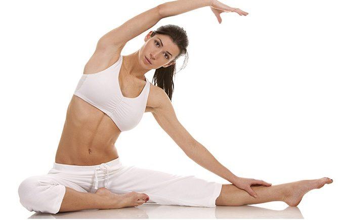 5 exercícios Pilates